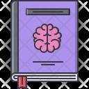 Book Smart Brain Icon