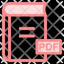 Book Pdf Pdfbook Icon