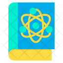 Atomic Science Book Science Book Education Icon