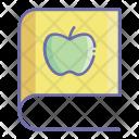Apple Book Fruit Icon