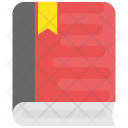Book Knowledge Bookmark Icon