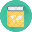 Book Geography Map Icon