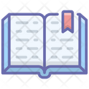 Book Education Notebook Icon