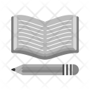 Pencil Book Read Icon