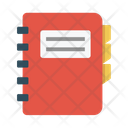 Book Diary Directory Icon