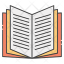 Reading Novel Story Book Text Book Icon
