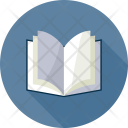Book Open Blank Icon