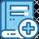 Book Medical Health Icon