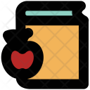 Book Apple Lunch Icon