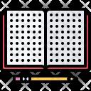 Design Notebook Pencil Icon