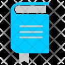 Book Read Text Icon