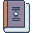 Book Booklet Dictionary Icon