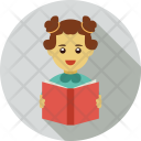 Book Library Student Icon