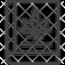 Marijuana Cannabis Book Icon
