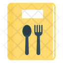 Book Recipes Menu Icon