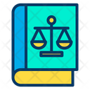 Justice Book Law Book Ethics Icon