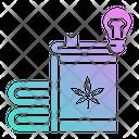 Cbd Guide Marijuana Icon