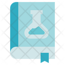 Chemistry Book Flask Icon