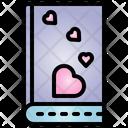 Book Valentine Heart Icon