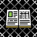 Book Report Color Icon