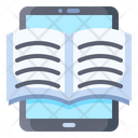 Book Electronic Tablet Icon
