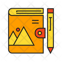 Book Pen Stationery Icon