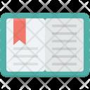 Book Bookmark Diary Icon