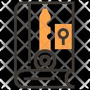 Book Key Locked Icon