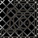 Book Stamp Design Icon