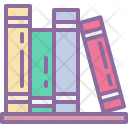 Book Bookshelf Education Icon