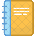Book Diary Notes Icon
