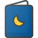 Book Story Night Icon