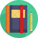 Book And A Pen Icon
