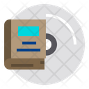 Book And Disk Icon