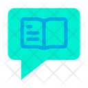 Chat Book Learning Icon