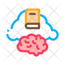 Book Cloud Icon