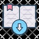Book Download Download Book Downloading Book Icon