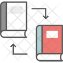 Book Exchange Cross Testing Encyclopedia Icon
