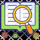 Book Explorer Book Review Case Study Icon