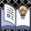 Lamp Book Idea Icon