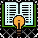 Book Idea Learning Idea Education Idea Icon