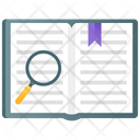 Book Inspection Book Review Book Search Icon