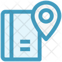 Book Map Navigation Icon