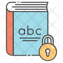 Book Lock Icon