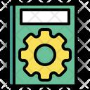 Book Gear Manual Icon