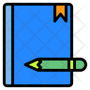 Book Pencil Office Icon