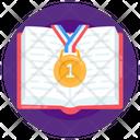 Book Medal Icon