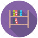 Bookshelf Book Rack Icon