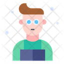 Book Reader Learner Student Icon