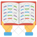 Book Reading Content Reading Study Icon
